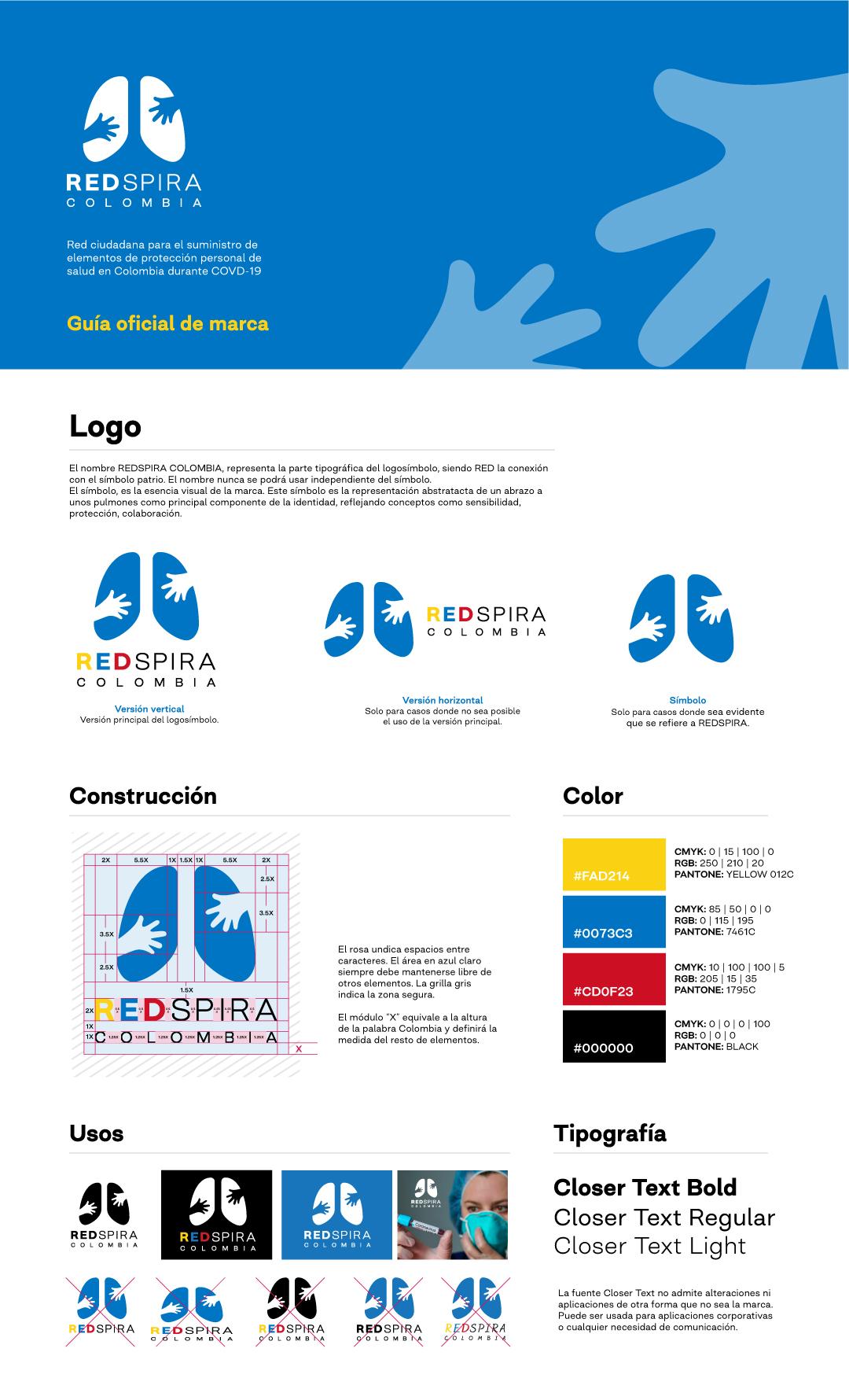 creación logo REDSPIRA