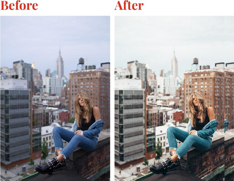 antes y despues foto